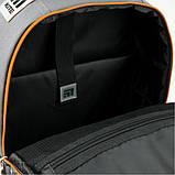 Рюкзак школьный Kite Education Go Fun 38x28x13 см 14 л Серый (K20-770M-1), фото 9