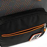 Рюкзак школьный Kite Education Go Fun 38x28x13 см 14 л Серый (K20-770M-1), фото 8