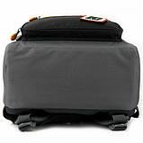 Рюкзак школьный Kite Education Go Fun 38x28x13 см 14 л Серый (K20-770M-1), фото 6