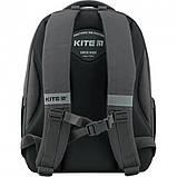 Рюкзак школьный Kite Education Go Fun 38x28x13 см 14 л Серый (K20-770M-1), фото 3