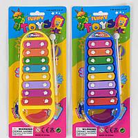 Ксилофон детский музыкальный инструмент 3021