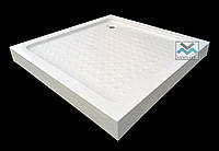 Душевой поддон VM Sanitary 90x90 квадратный поддон низкий с ножками сифоном