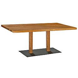 Стіл для кафе бару HORECA з дерева 140х70