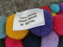 Дизайнерские ковры из Непала