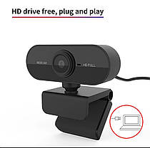 Веб камера eMastiff 1080P для видео звонков, фото 2
