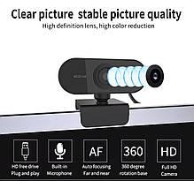 Веб камера eMastiff 1080P для видео звонков, фото 3
