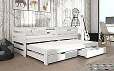 Детская деревянная кровать Кетти с дополнительным спальным местом ТМ MegaOpt, фото 2