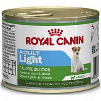 Royal Canin Adult Light Mousse - консервы для собак предрасположенных к полноте.Вес 195гр.12шт