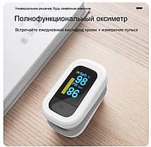 Пульсометр на палець оксиметром сатурація пульс Yongrow YK-82Pro екран OLED, фото 3
