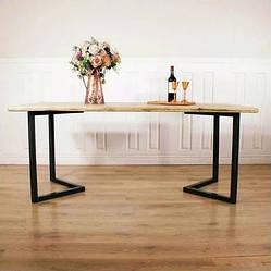 """Стіл для кафе з дерева """"N45"""" з масиву ясена 140х70"""