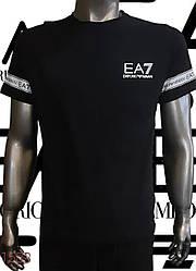 Футболка для мужчин/комплект футболка с шортами EMPORIO ARMANI,копия класса люкс.Турция
