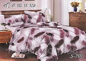 Комплект постельного белья Тет-А-Тет ( Украина ) Сатин евро (S-201)