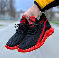 Чоловічі кросівки Black/Red, фото 1