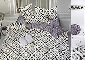 Комплект постельного белья Тет-А-Тет ( Украина ) Сатин евро (S-265)