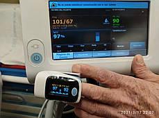 Пульсометр на палець оксиметром сатурація пульс Yongrow YK-82Pro екран OLED, фото 2