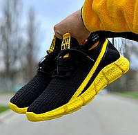 Чоловічі кросівки Black/Yellow, фото 1