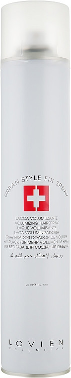 Лак сильной фиксации Lovien Essential Styling Urban Style Fix Finish Spray