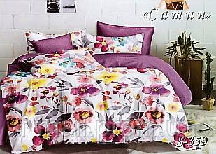 Комплект постельного белья Тет-А-Тет ( Украина ) Сатин евро (S-359)
