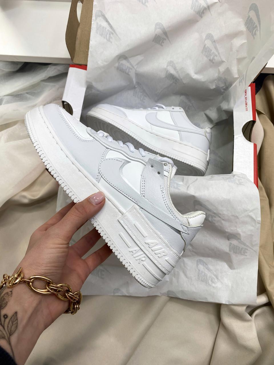 Жіночі кросівки Nike Air Force 1 Shadow Silver