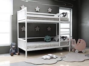 Дитяча дерев'яна двох'ярусна ліжко Хатіко ТМ MegaOpt, фото 2
