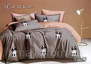 Комплект постельного белья Тет-А-Тет ( Украина ) Сатин евро (S-363)