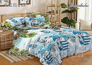 Комплект постельного белья Тет-А-Тет ( Украина ) Сатин евро (S-380)