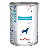 Royal Canin (Роял Канин) HYPOALLERGENIC - консервы лечебный корм для собак.Вес 400гр. 12шт