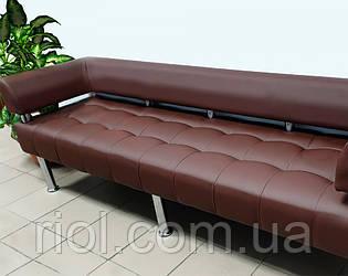 Офісний диван коричневий Тонус
