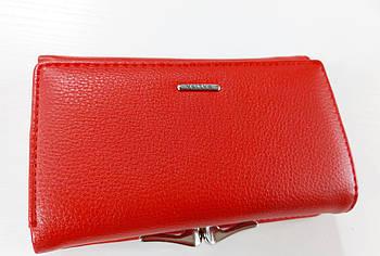 Жіночий гаманець Balisa C7601 червоний Жіночий гаманець з штучної шкіри закривається на магніт