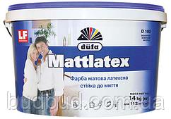 Фарба латексна матова Dufa D100  3,5 кг.