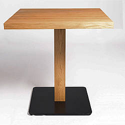 """Барні столи дерев'яні в кафе і ресторан """"horeca"""" з масиву і металу"""