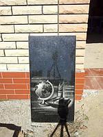Одинарный памятник надгробие из гранита образец №41