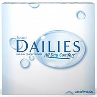 Контактные линзы Focus DAILIES All Day Comfort (90 шт.)