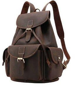 Рюкзак Vintage 14713 шкіряний Коричневий