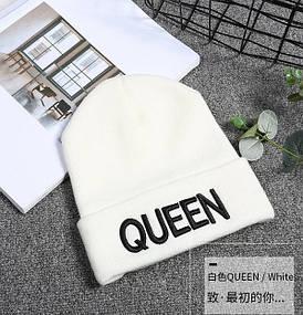Шапка Queen біла 1024