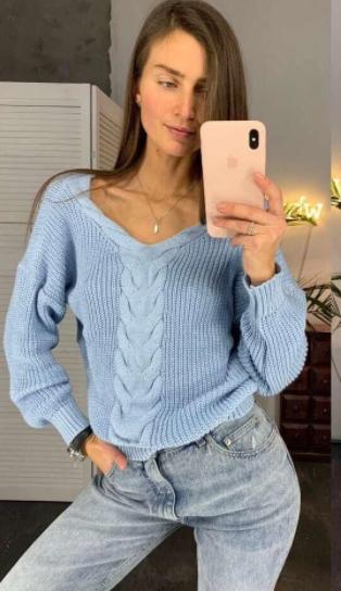 Жіночий пуловер Mia blue
