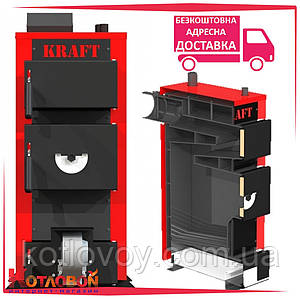 Дровяной котёл Крафт (Kraft) серия E new