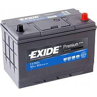 Аккумулятор 100Ah-12v Exide PREMIUM EA1004 (302х172х223),R,EN850,Азия