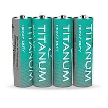 Батарейка солевая Titanum R03P/AAA 4шт SHRINK