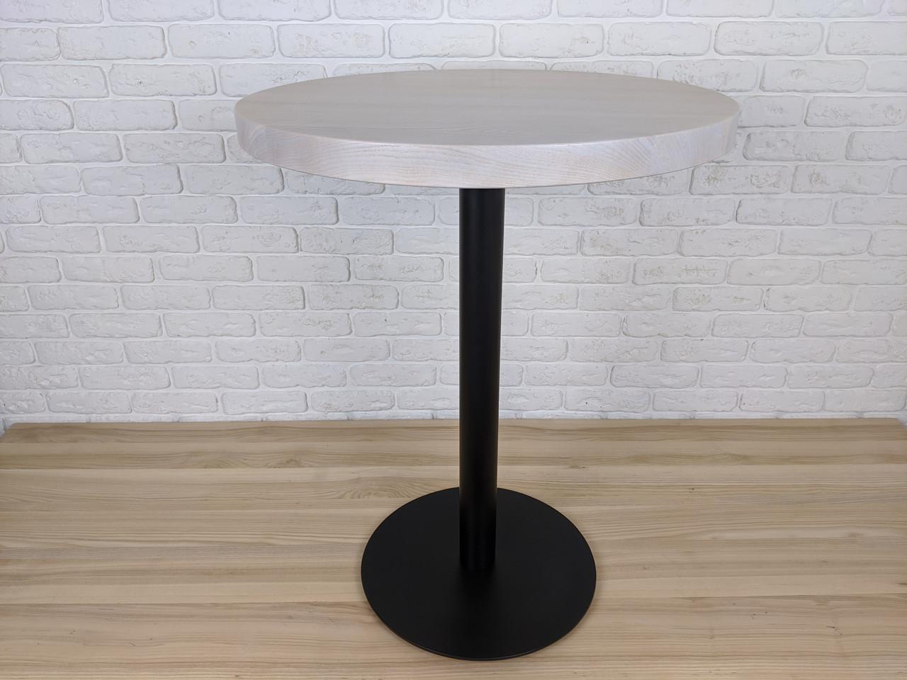 Столик круглый для кафе и ресторанов из массива диаметр 60
