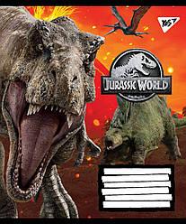 А5/60 кл. YES Jurassic World. Genetic failure, зошит дя записів