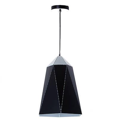 Люстра-подвес чёрная с треугольным дизайном (NI002/S/black)
