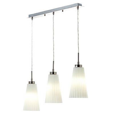 Светильник потолочный белый на 3 подвесных лампы (VL017/3)