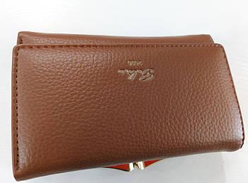 Жіночий гаманець Balisa C7601 коричневий Жіночий гаманець з штучної шкіри закривається на магніт