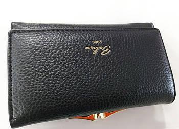 Жіночий гаманець Balisa C7601 чорний Жіночий гаманець з штучної шкіри закривається на магніт