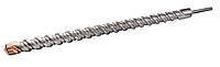 Сверло для бетона SDS-MAX 45*1000 QUADRO S4 GRANITE
