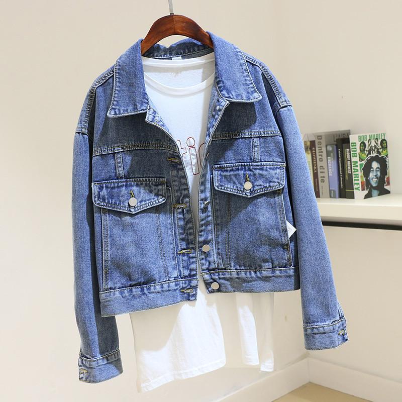 Стильная женская джинсовая куртка (44-48)