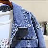 Стильная женская джинсовая куртка (44-48), фото 2