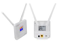 4G модем с встроенным Wi-Fi роутером и двумя антеннами на 5dbi