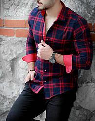 Сорочка довгий рукав утеплена S, M, L, XL